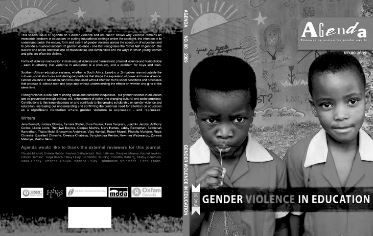 Agenda Journal No. 80: Gender Violence in Education