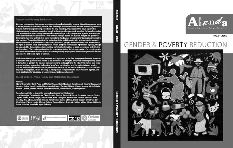 Agenda Journal No. 81: Gender and Poverty Reduction
