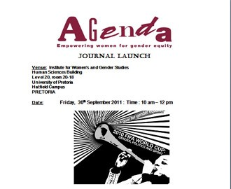 Journal Launch Invite: Friday,  30th September 2011 (10 am – 12 pm)