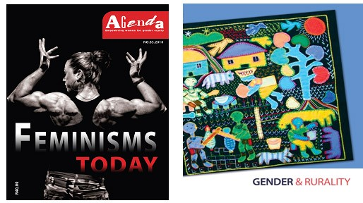"Agenda launches issue #83 ""Feminisms Today"" and #84 ""Gender and Rurality"""