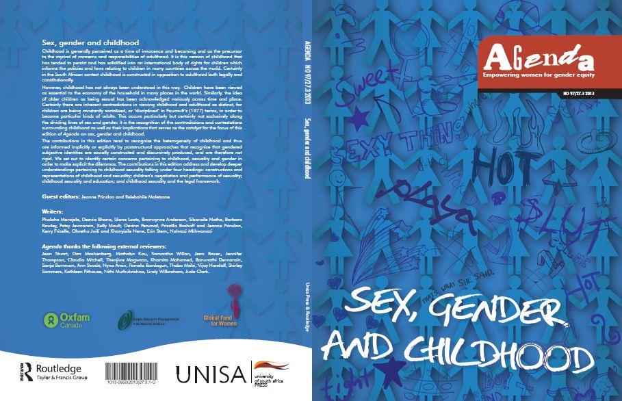 Sex, gender and childhood
