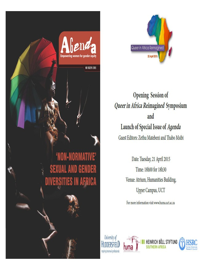 Opening session: Queer in Africa Reimagined Symposium