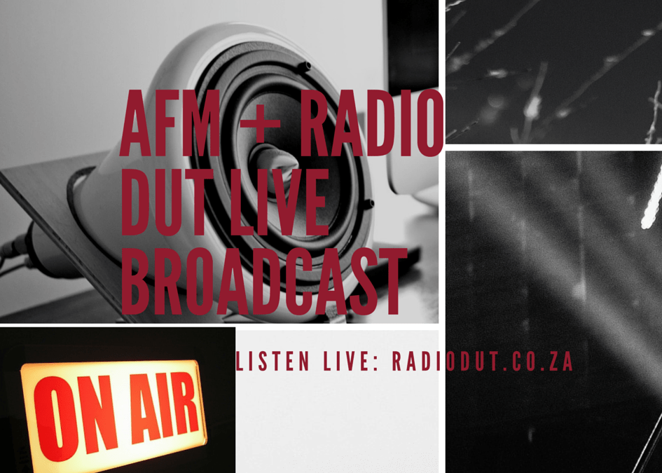 Tune in for Agenda's 1st live radio broadcast in collaboration with Radio DUT
